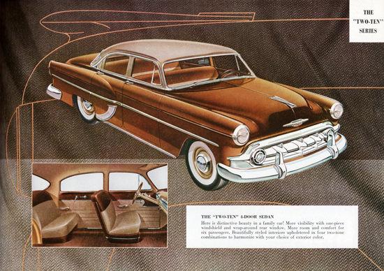 Chevrolet Two Ten Series Sedan 1953   Vintage Cars 1891-1970