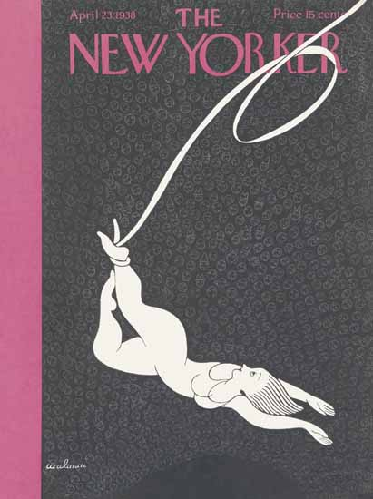 Christina Malman The New Yorker 1938_04_23 Copyright | The New Yorker Graphic Art Covers 1925-1945