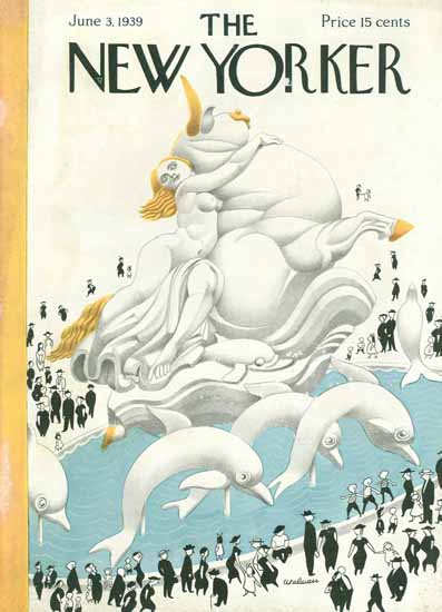 Christina Malman The New Yorker 1939_06_03 Copyright | The New Yorker Graphic Art Covers 1925-1945