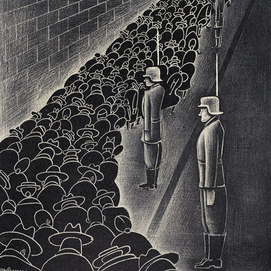 Christina Malman The New Yorker 1940_07_27 Copyright crop | Best of Vintage Cover Art 1900-1970