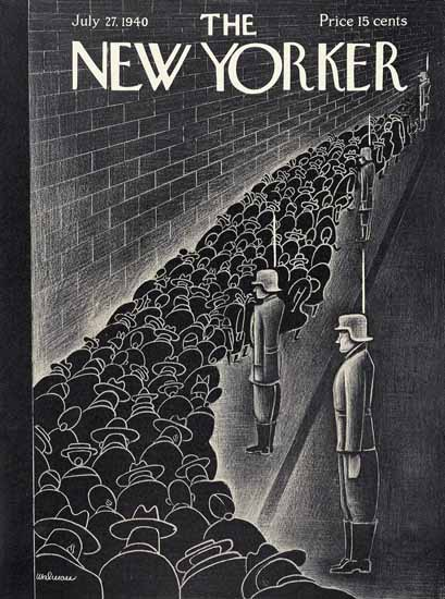 Christina Malman The New Yorker 1940_07_27 Copyright | The New Yorker Graphic Art Covers 1925-1945
