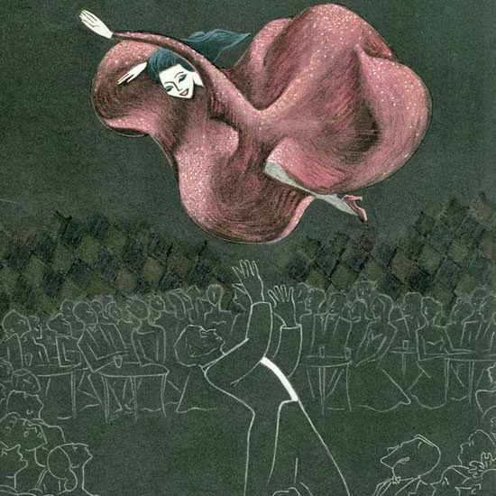 Christina Malman The New Yorker 1947_03_29 Copyright crop   Best of Vintage Cover Art 1900-1970