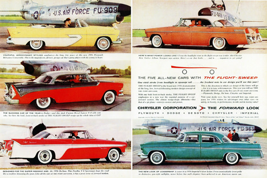 Chrysler 1956 Plymouth Dodge DeSoto Imperial | Vintage Cars 1891-1970