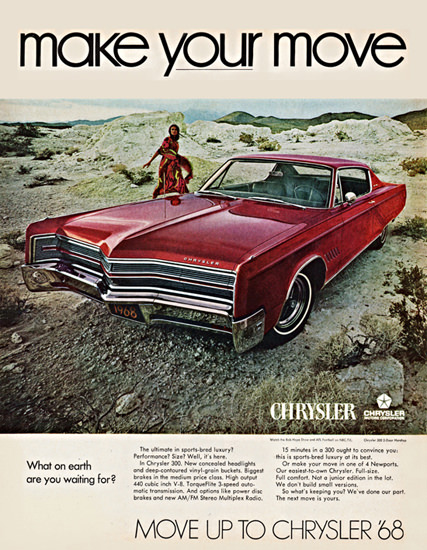 Chrysler 300 1968 What Are You Waiting For | Vintage Cars 1891-1970