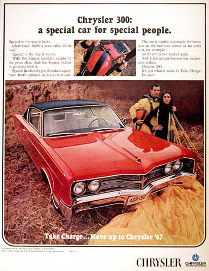 Chrysler 300 Coupe 1967 Special Car People | Vintage Cars 1891-1970
