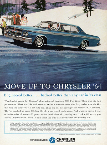Chrysler 300 Hardtop 1964 Ergineered Better | Vintage Cars 1891-1970