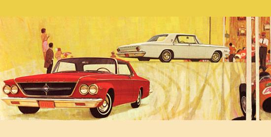 Chrysler 300 Hardtops 1963 Car Racing   Vintage Cars 1891-1970