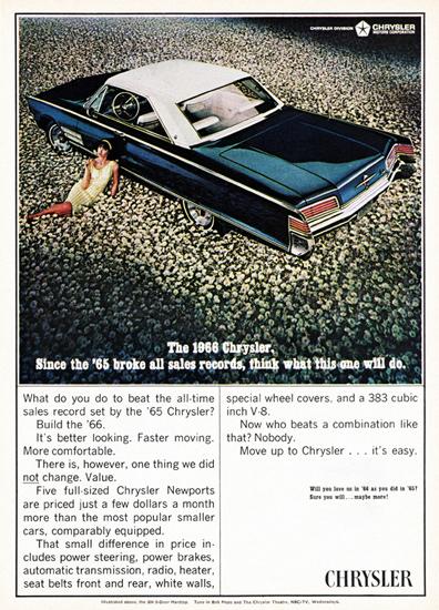 Chrysler 300 V8 Hardtop 1966 Bloomfield | Vintage Cars 1891-1970