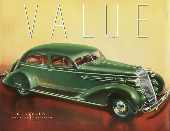 Chrysler 6 Touring Brougham 1936 | Vintage Cars 1891-1970