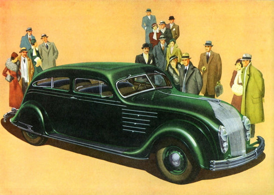 Chrysler Airflow Eight Six P Brougham 1934 | Vintage Cars 1891-1970