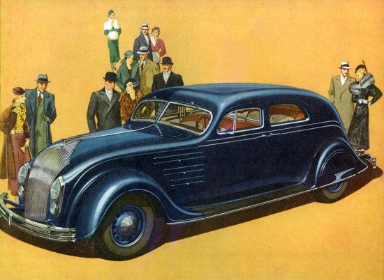 Chrysler Airflow Eight Six P Town Sedan 1934 | Vintage Cars 1891-1970