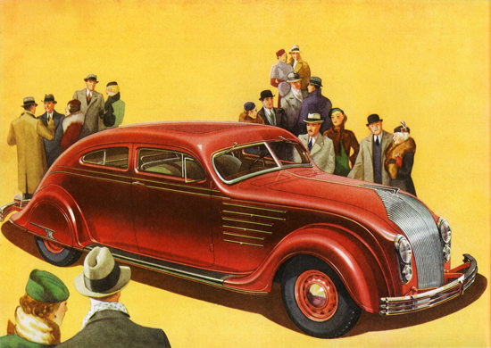 Chrysler Airflow Imperial Coupe Five P 1934 | Vintage Cars 1891-1970