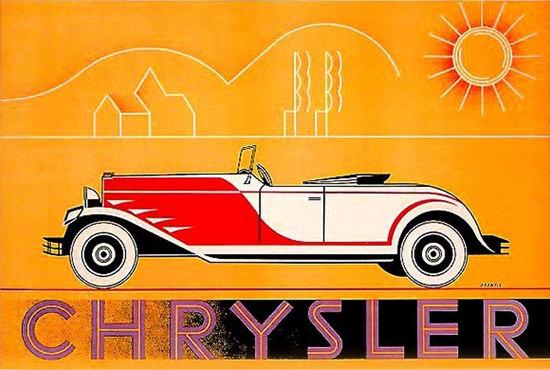 Chrysler Automobile Sun Terence Prentis | Vintage Cars 1891-1970