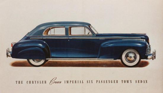 Chrysler Crown Imperial 6 Passenger Sedan 1941 | Vintage Cars 1891-1970