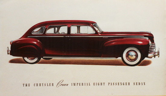 Chrysler Crown Imperial Eight Passenger 1941 | Vintage Cars 1891-1970