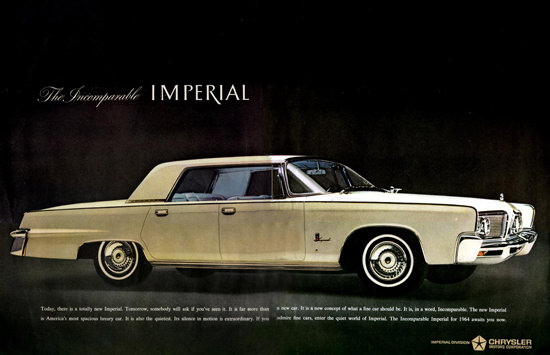 Chrysler Imperial 1964 Incomparable | Vintage Cars 1891-1970