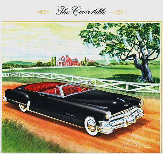 Chrysler Imperial Convertible 1951 | Vintage Cars 1891-1970