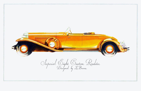 Chrysler Imperial Eight Roadster 1931 Le Baron | Vintage Cars 1891-1970