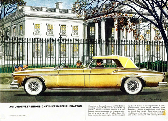 Chrysler Imperial Phaeton 1951 | Vintage Cars 1891-1970