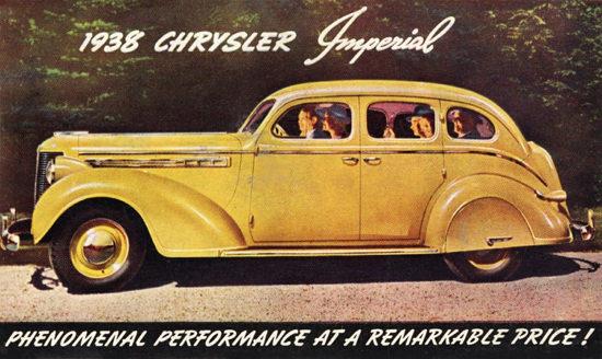 Chrysler Imperial Touring Sedan 1938 | Vintage Cars 1891-1970