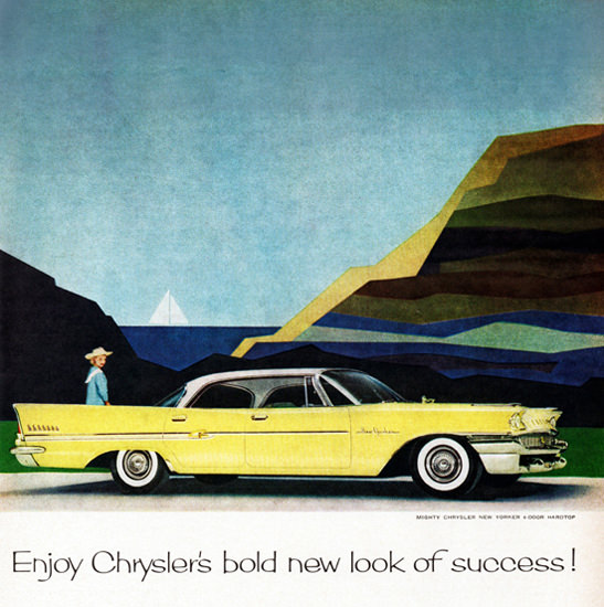 Chrysler New Yorker 1958 Look Of Bold Success | Vintage Cars 1891-1970