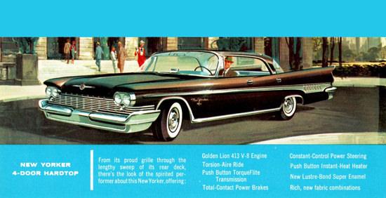 Chrysler New Yorker 1959 Golden Lion 413 V8   Vintage Cars 1891-1970