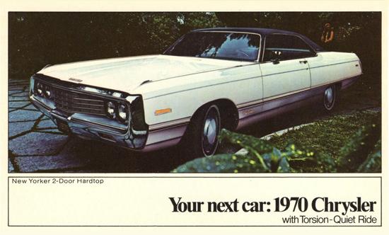 Chrysler New Yorker 1970 Torsion Quiet Ride | Vintage Cars 1891-1970