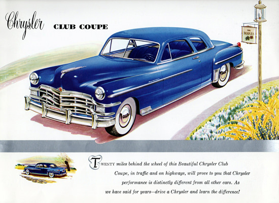 Chrysler New Yorker Club Coupe 1949 | Vintage Cars 1891-1970