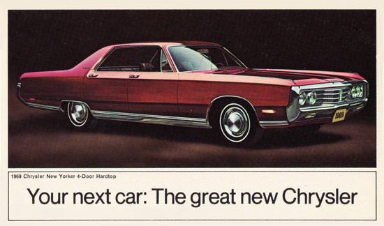 Chrysler New Yorker Hardtop 1969 You Next Car | Vintage Cars 1891-1970