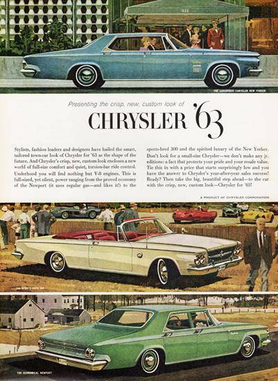 Chrysler New Yorker Sports Bred Newport 1963 | Vintage Cars 1891-1970