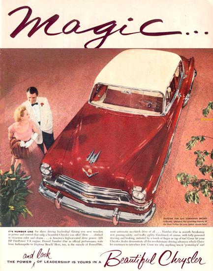 Chrysler New Yorker Tahiti 1954 | Vintage Cars 1891-1970