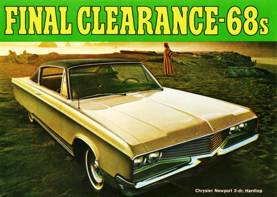 Chrysler Newport Hardtop 1968 Final Clearance | Vintage Cars 1891-1970