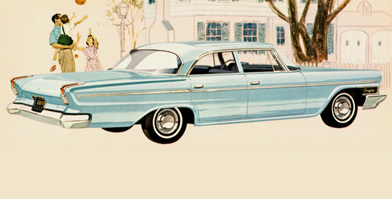 Chrysler Newport Sedan 1962 Balloon | Vintage Cars 1891-1970