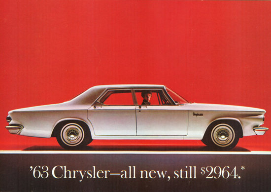 Chrysler Newport Sedan 1963 | Vintage Cars 1891-1970
