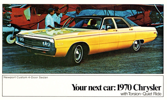 Chrysler Newport Sedan 1970 Double Decker | Vintage Cars 1891-1970