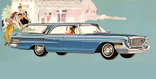 Chrysler Newport Town N Country Wagon 1962 | Vintage Cars 1891-1970
