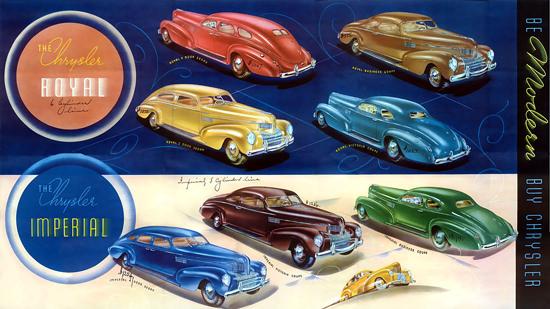 Chrysler Royal Imperial 7 Models | Vintage Cars 1891-1970