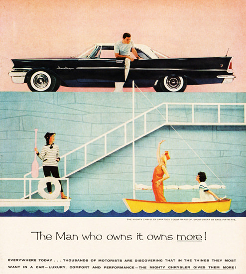 Chrysler Saratoga 1958 The Man Who Owns It | Vintage Cars 1891-1970