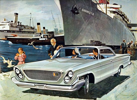 Chrysler Saratoga 2 Door Hardtop Canada 1962 | Vintage Cars 1891-1970