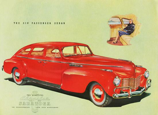 Chrysler Saratoga Six Passenger Sedan 1940 | Vintage Cars 1891-1970
