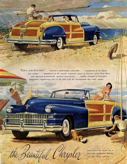 Chrysler Town And Country 1947 | Vintage Cars 1891-1970