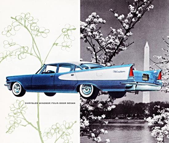 Chrysler Windsor 1957 Spring In Washington DC   Vintage Cars 1891-1970