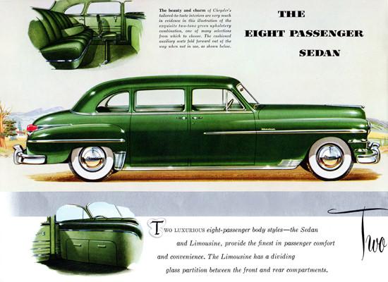 Chrysler Windsor 8 P Limousine 1949 | Vintage Cars 1891-1970