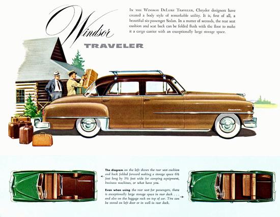 Chrysler Windsor DeLuxe Traveler 1951 | Vintage Cars 1891-1970