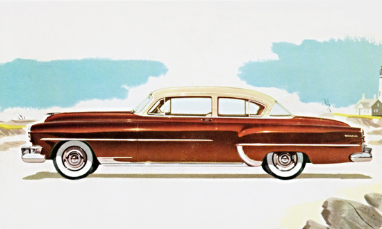 Chrysler Windsor Deluxe Club Coupe 1954 | Vintage Cars 1891-1970