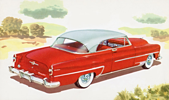 Chrysler Windsor Deluxe Newport 1954 | Vintage Cars 1891-1970