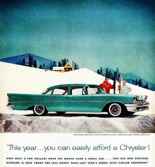 Chrysler Windsor Sedan 1958 You Can Afford | Vintage Cars 1891-1970