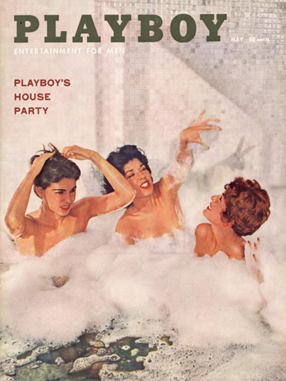 Cindy Fuller and other Cover Girls Playboy 1959-05 Copyright Sex Appeal | Sex Appeal Vintage Ads and Covers 1891-1970