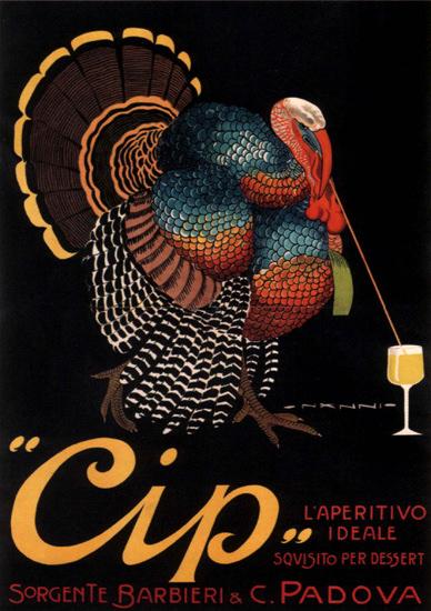 Cip L Aperitivo Ideale Sorgente Padova Italia | Vintage Ad and Cover Art 1891-1970