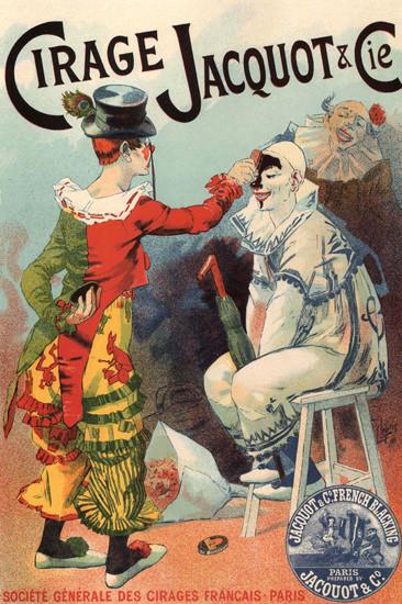Cirage Jacquot Cirages Francais Paris France | Vintage Ad and Cover Art 1891-1970